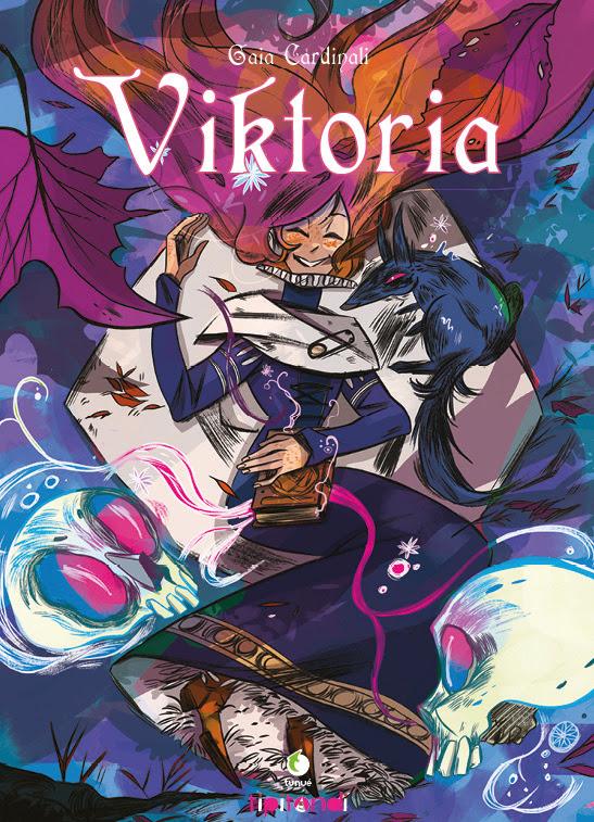 Viktoria, copertina di Gaia Cardinali