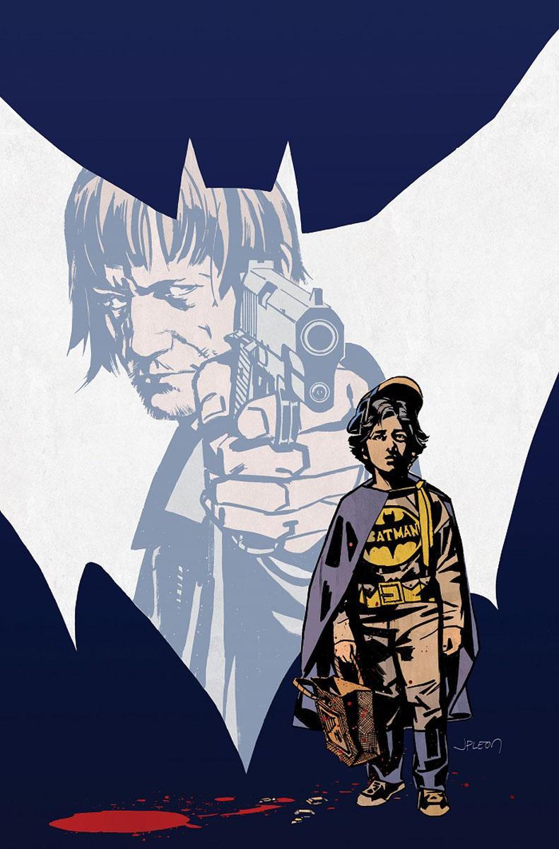 Batman: Creature of the Night #1, copertina di John Paul Leon