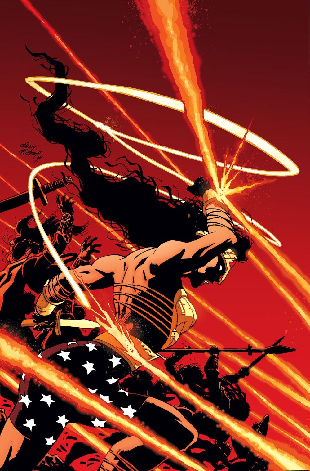 Cavaliere Oscuro III - Razza Suprema 8, copertina di Andy Kubert