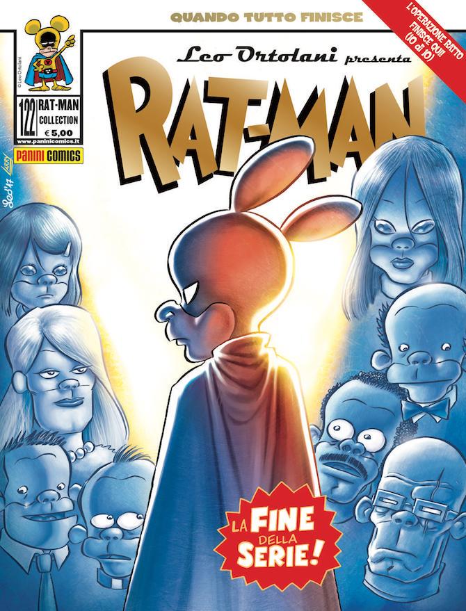 Rat-Man 122, copertina di Leo Ortolani