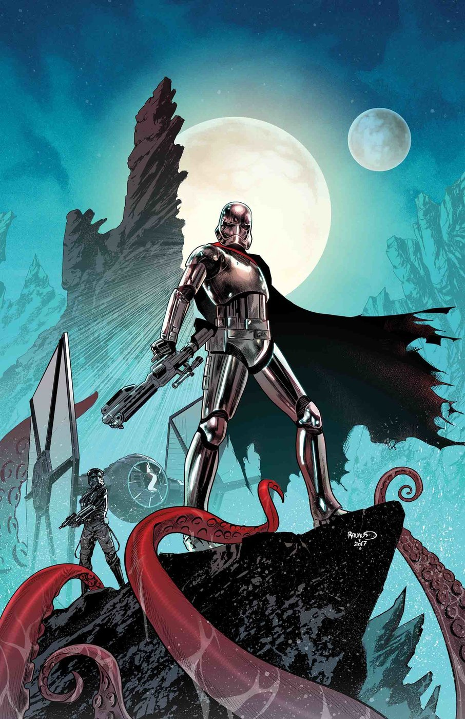 Captain Phasma #2, copertina di Paul Renaud