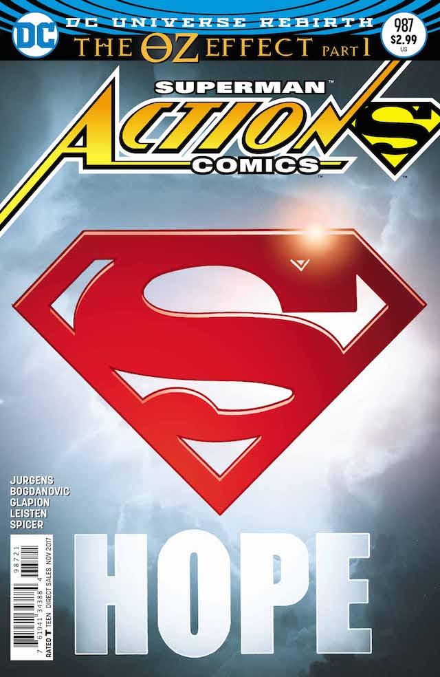 Action Comics #987, copertina