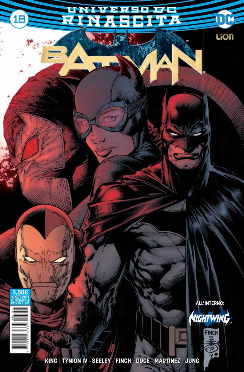 Batman 18, copertina di David Finch