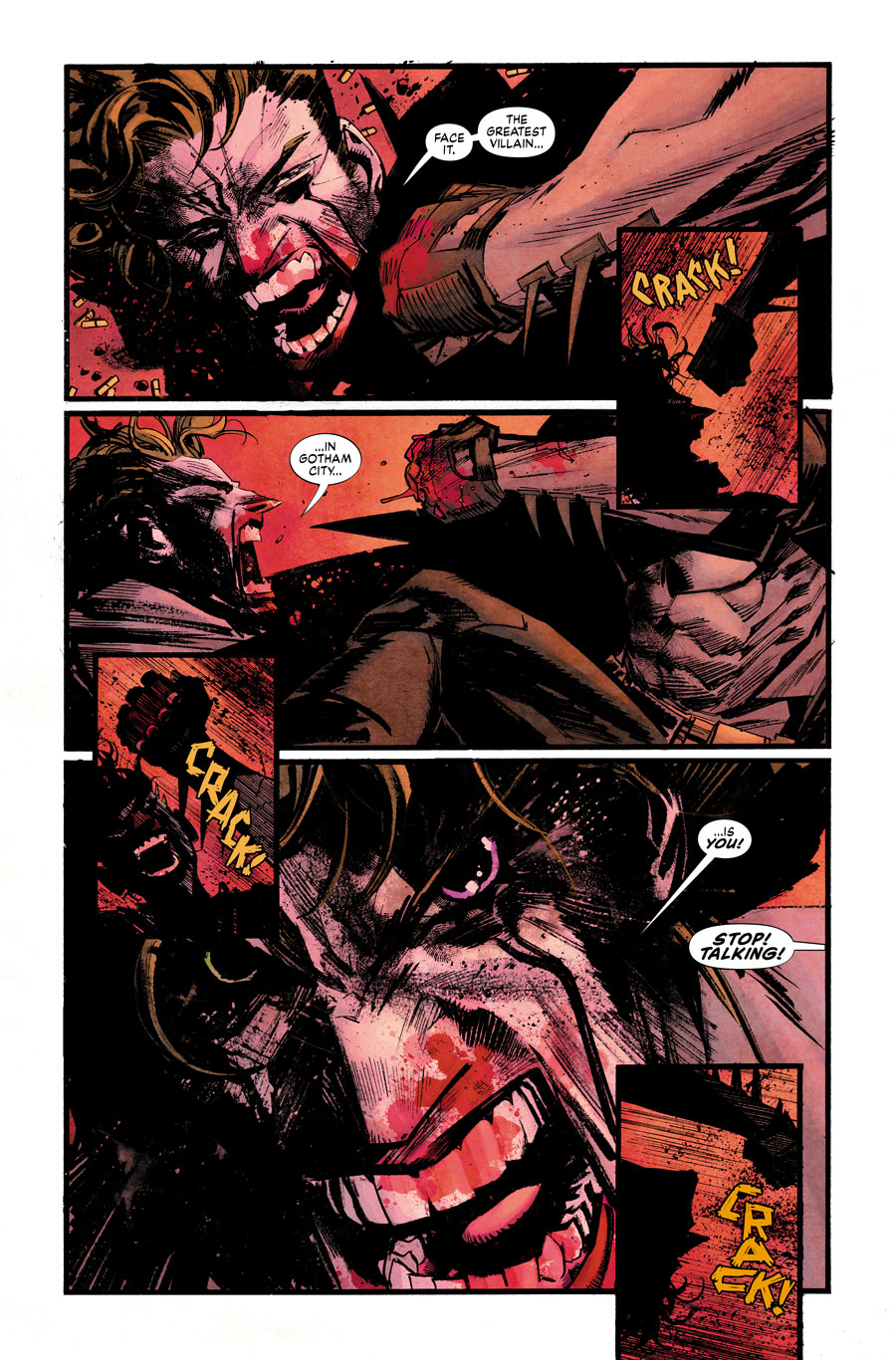 Batman: White Knight #1, anteprima 01