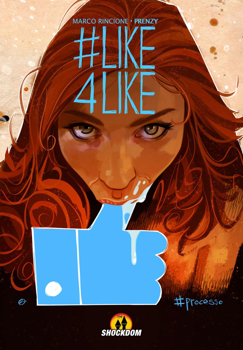 #Like4Like: #Processo, copertina A di Prenzy