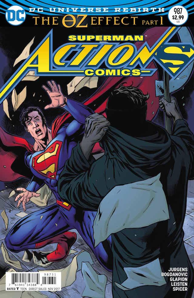 Action Comics #987, variant cover di Neil Edwards