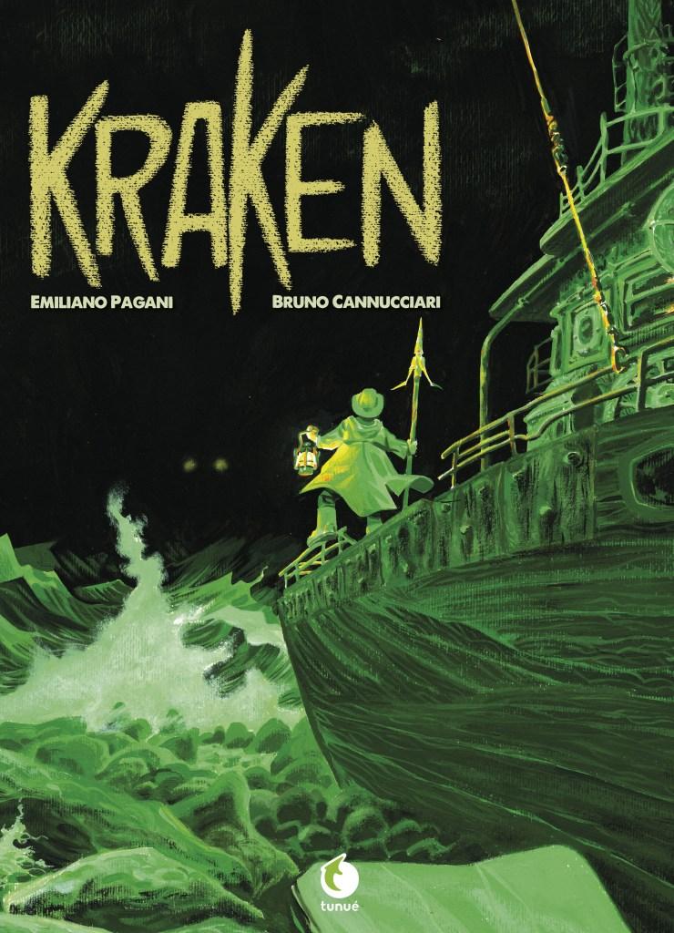 Kraken, copertina di Bruno Cannucciari