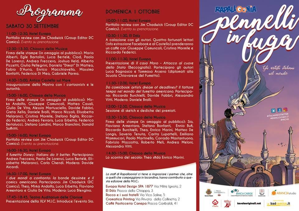 Rapalloonia 2017: il programma