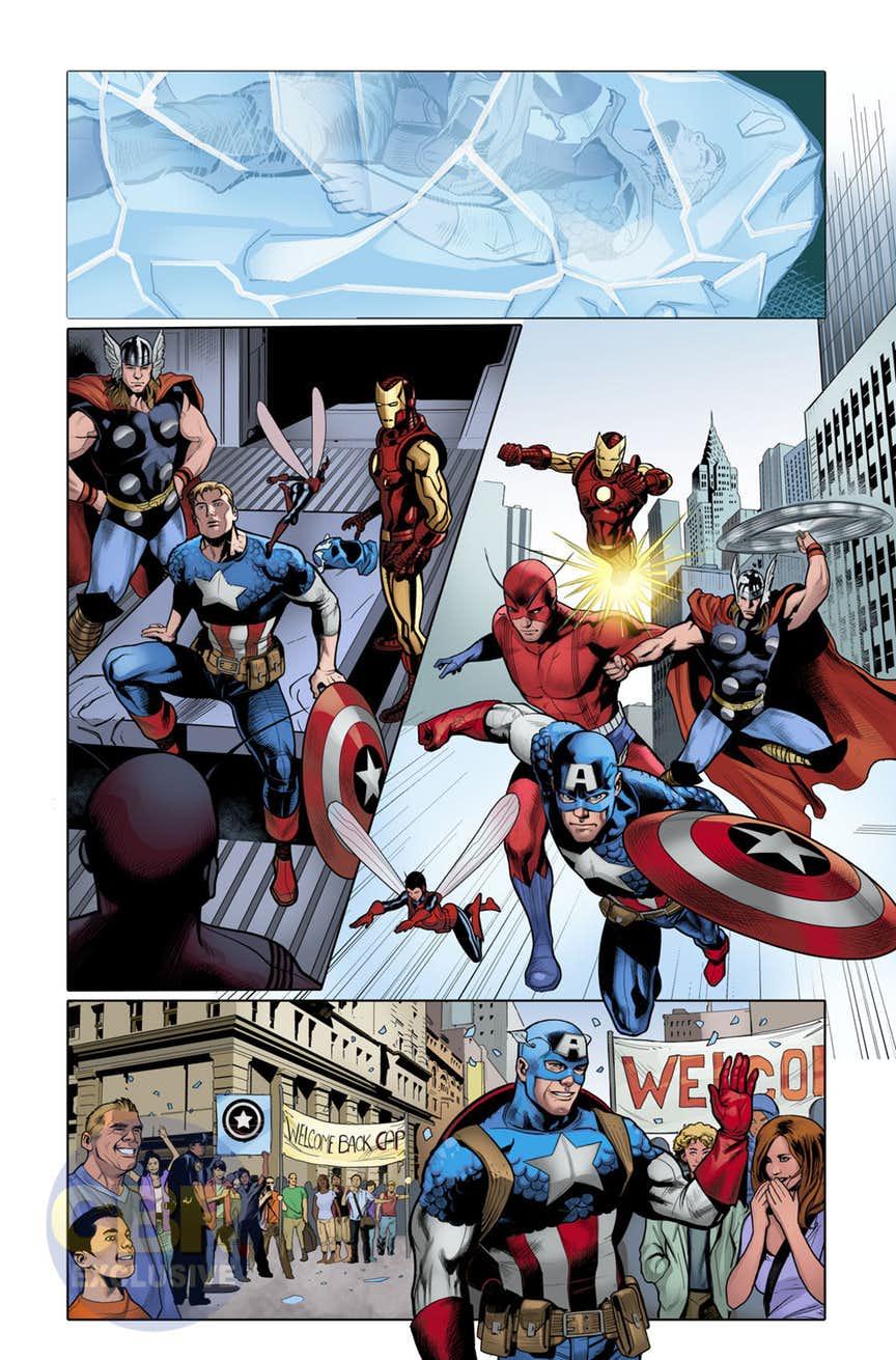 Generations: The Americas - Sam Wilson: Captain America & Steve Rogers: Captain America #1, anteprima 03