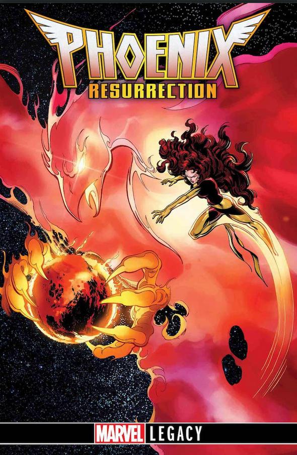 Phoenix Resurrection #1, variant cover di John Byrne