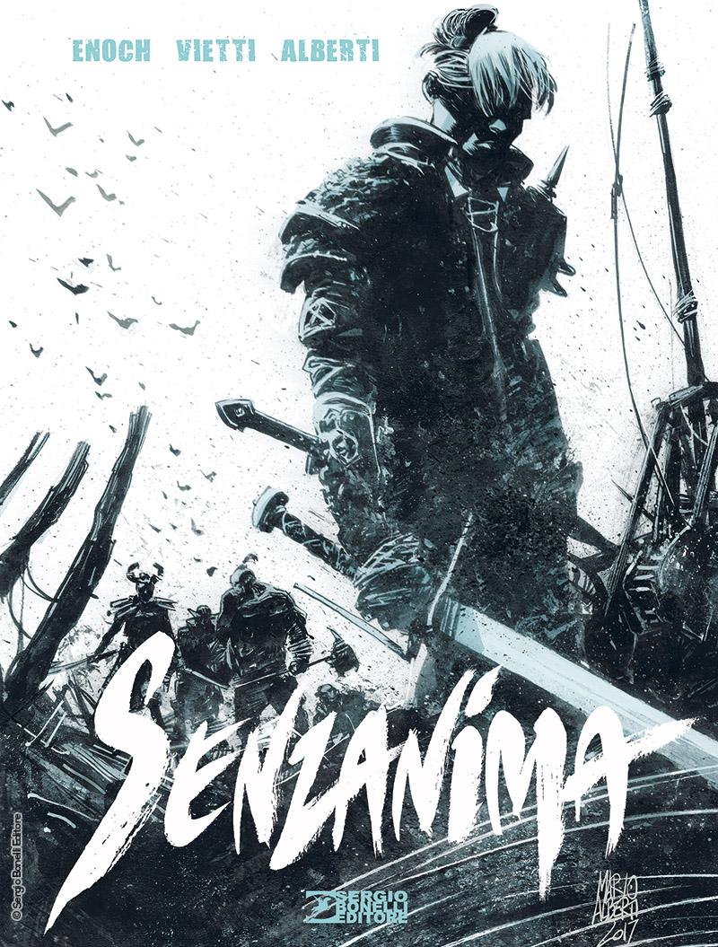 Dragonero: Senzanima, copertina di Mario Alberti