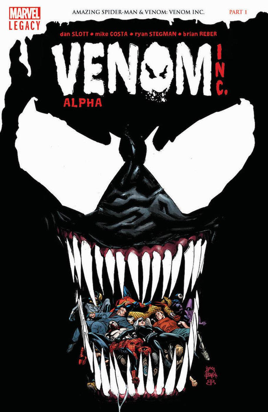 Venom Inc.: Alpha #1, copertina di Ryan Stegman