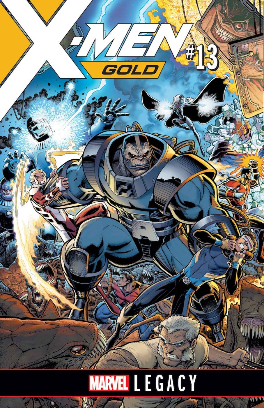 X-Men: Gold #13, copertina di Arthur Adams