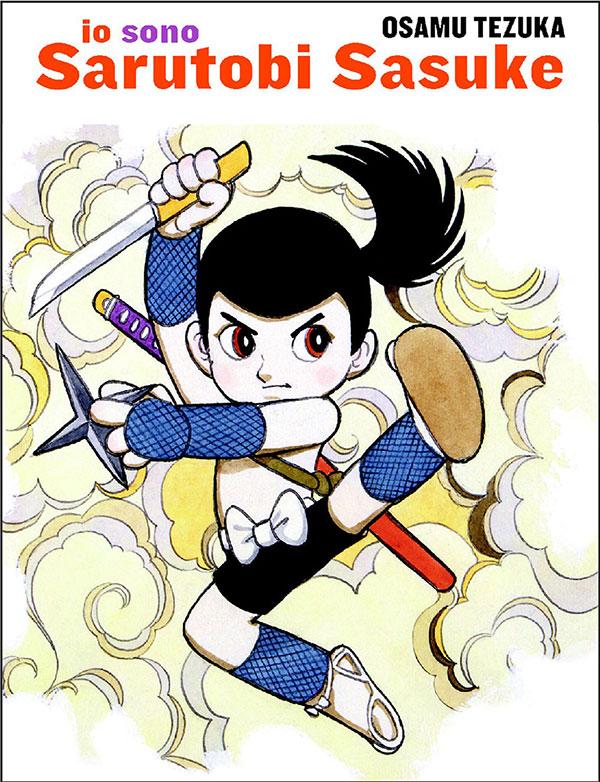 Io sono Sasuke Sarutobi, copertina di Osamu Tezuka