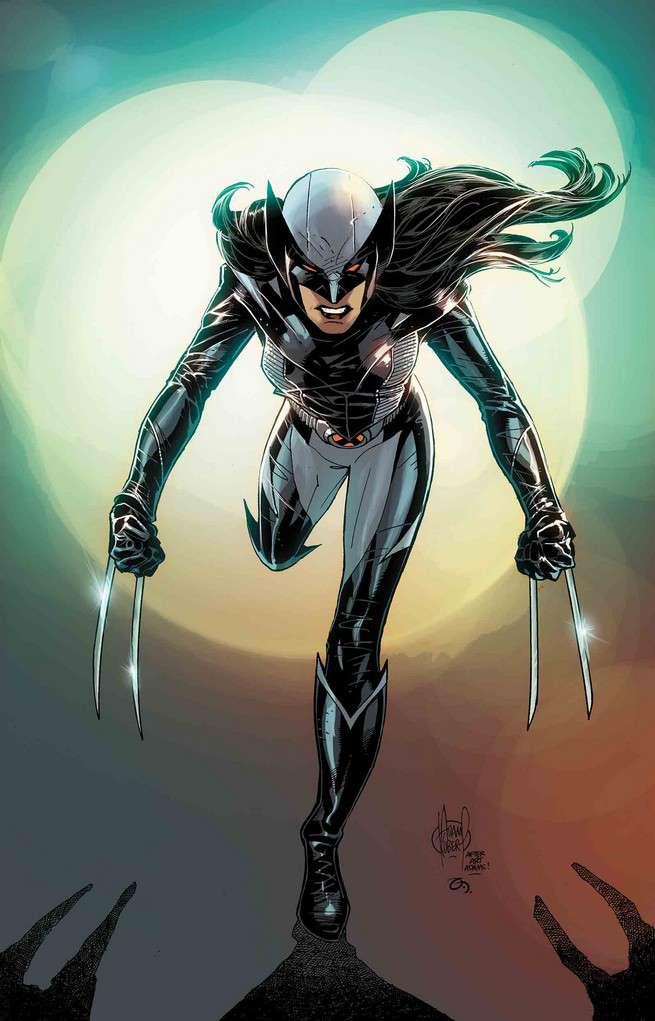 All-New Wolverine #19, copertina di Adam Kubert