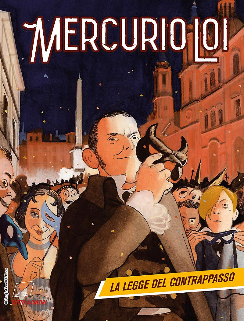Mercurio Loi 2: La legge del contrappasso, copertina di Manuele Fior