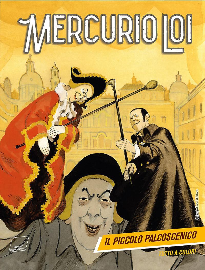 Mercurio Loi 3: Il piccolo palcoscenico, copertina di Manuele Fior