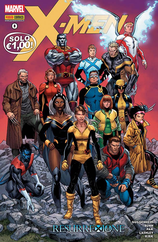 X-Men 0, copertina di Ardian Syaf