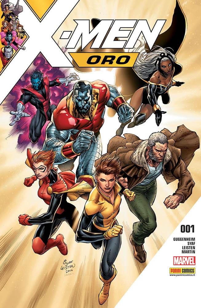 X-Men Oro 1, copertina di Ardian Syaf