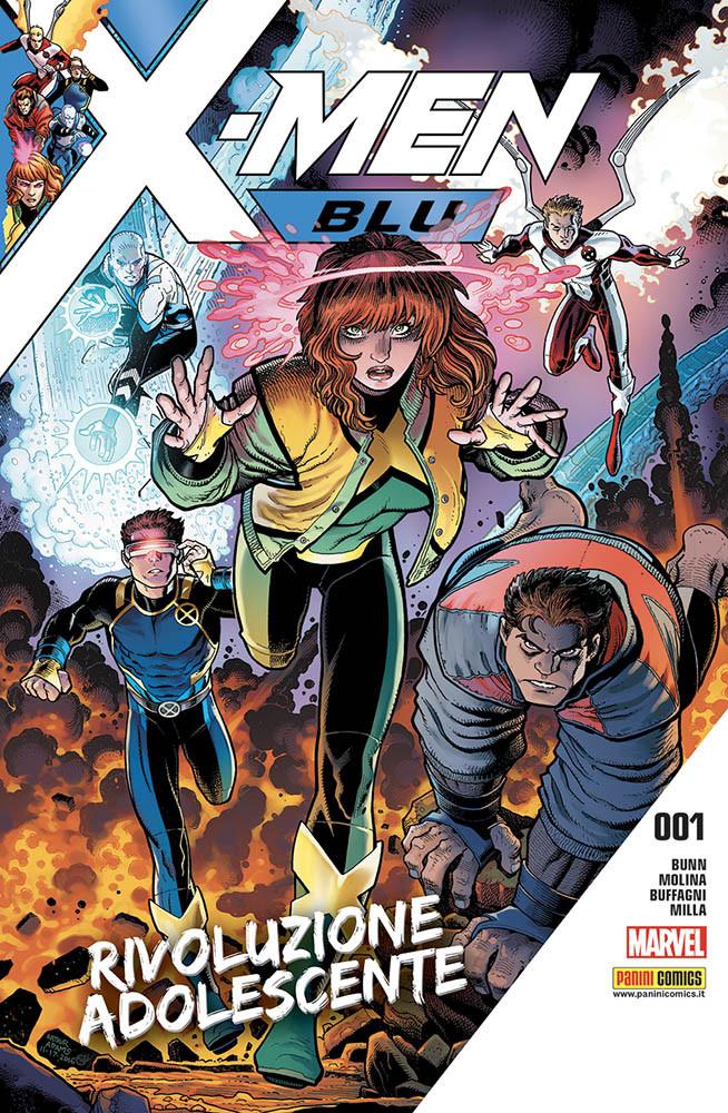 X-Men Blu 1, copertina di Arthur Adams