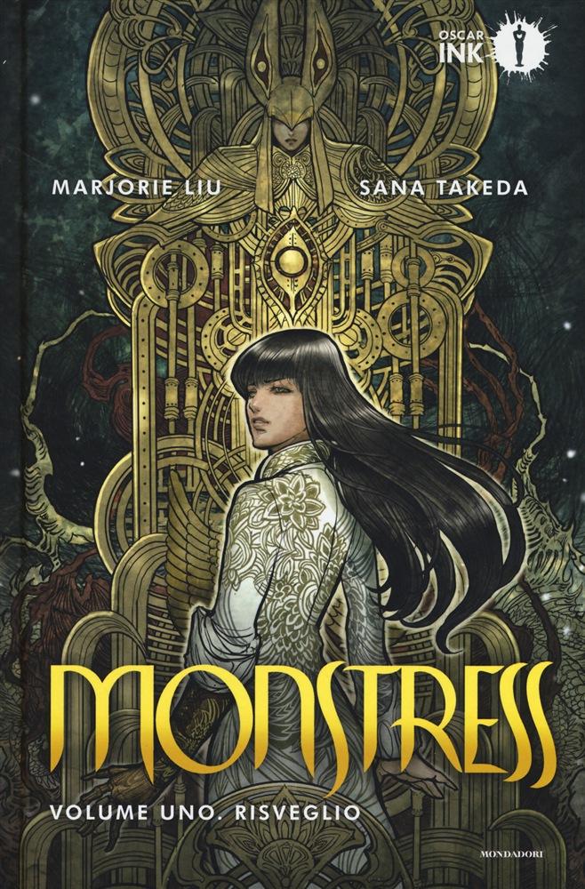 Monstress vol. 1: Risveglio, copertina di Sana Takeda