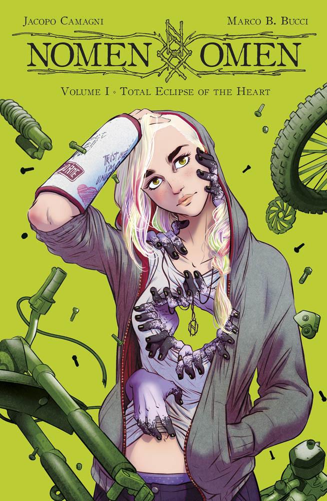 Nomen Omen vol. 1: Total Eclipse of the Heart, di Marco B. Bucci e Jacopo Camagni - Panini Comics