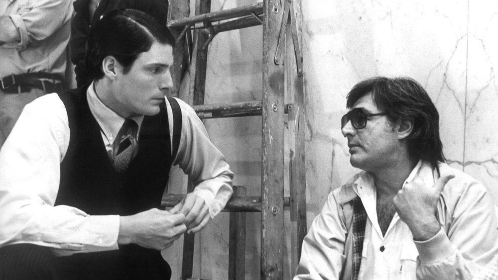 Christopher Reeve e Richard Donner