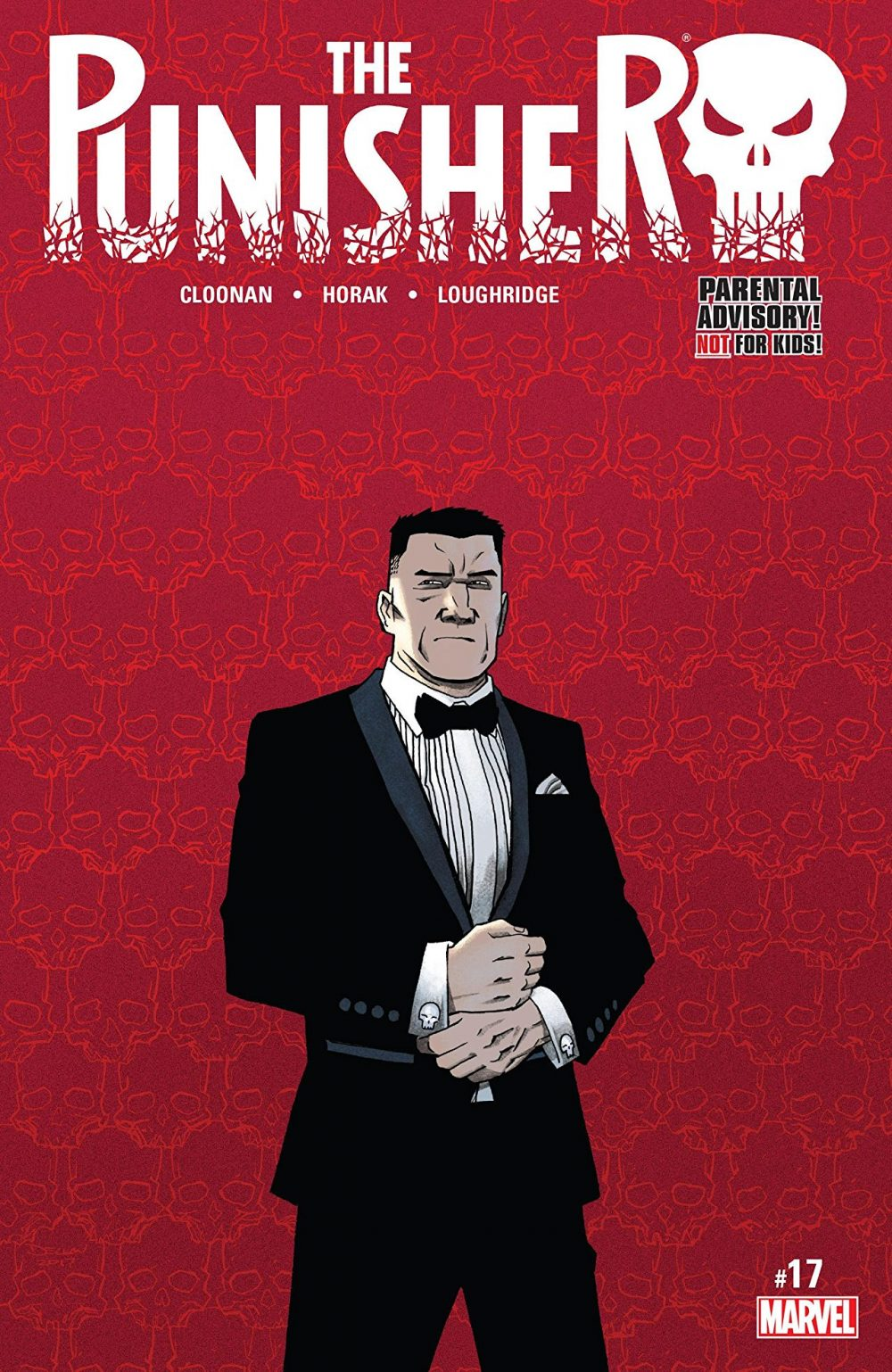 the punisher #17, copertina di declan shalvey