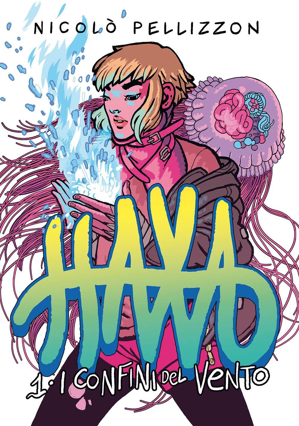Haxa vol. 1: I confini del vento, copertina di Nicolò Pellizzon