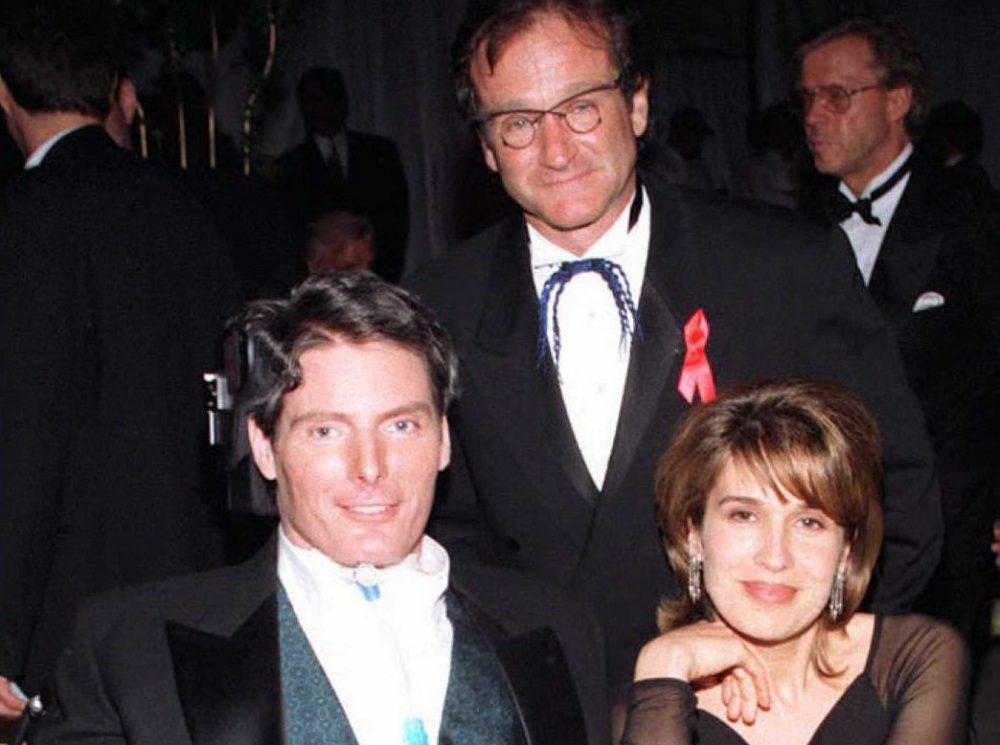 Christopher Reeve e Robin Williams