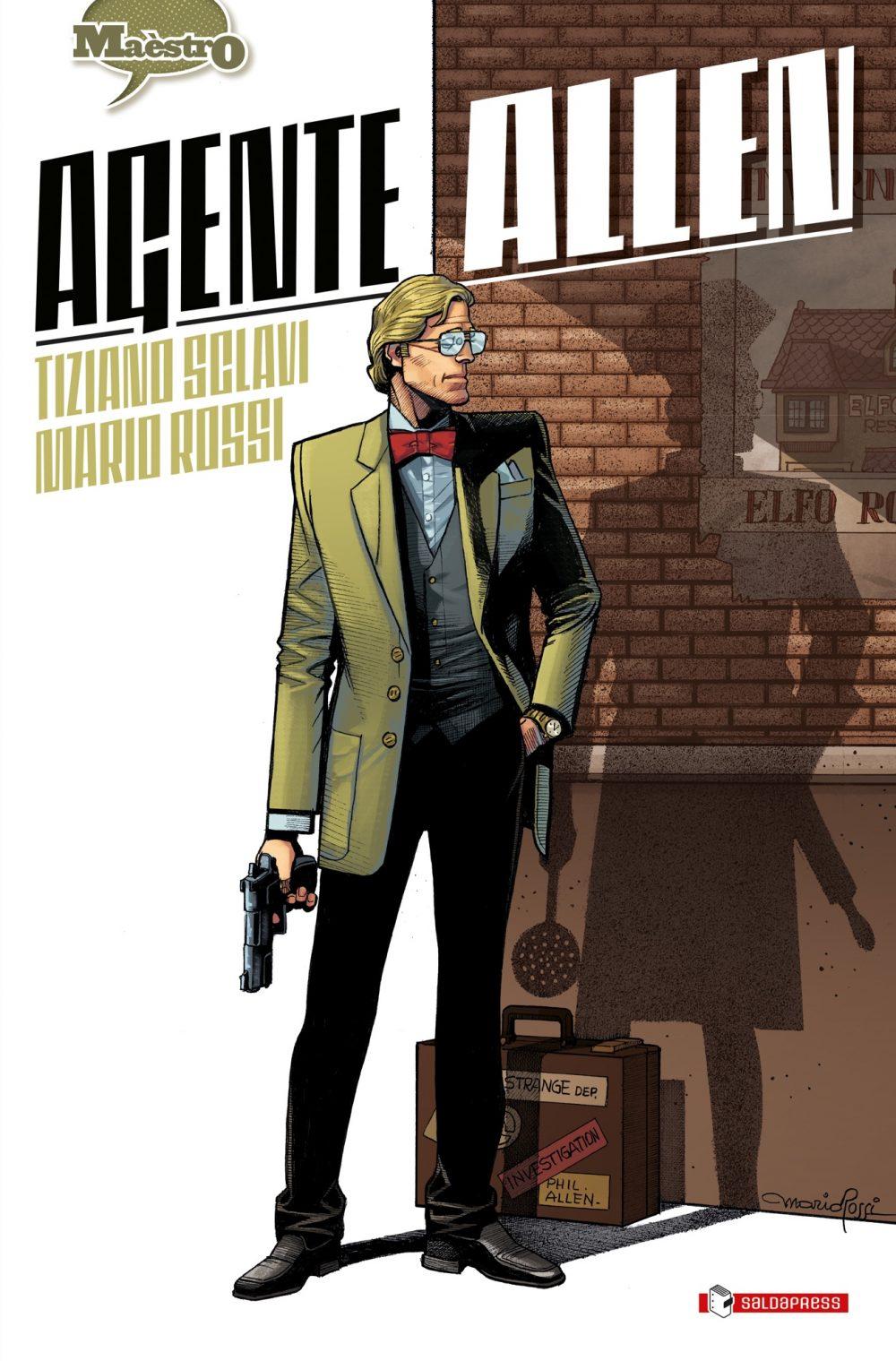 Agente Allen, copertina di Mario Rossi