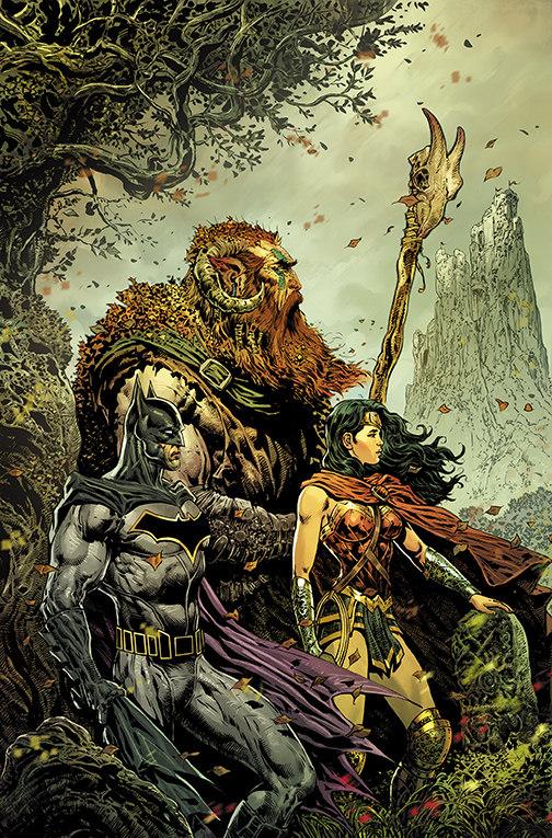 The Brave and the Bold: Batman and Wonder Woman #1, copertina di Liam Sharp