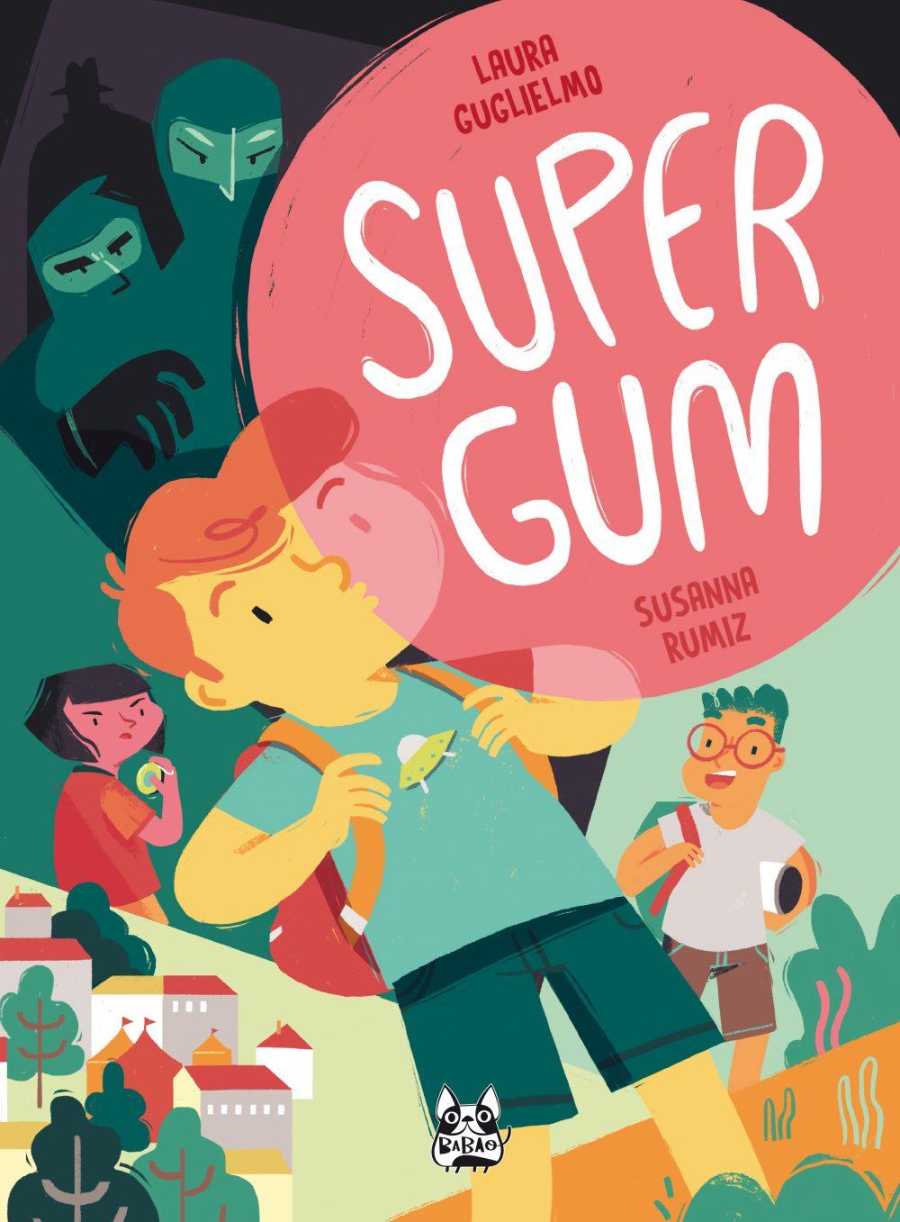 Supergum, copertina di Susanna Rumiz