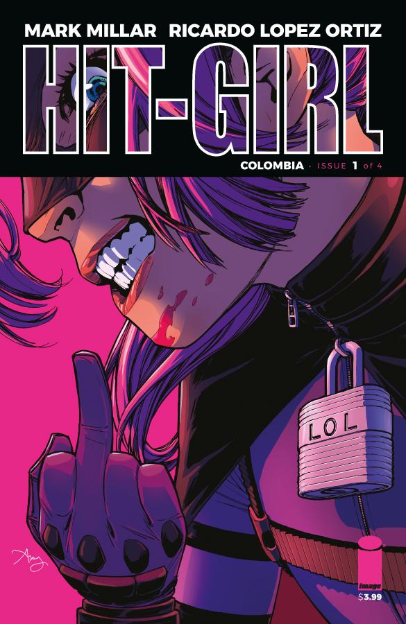 Hit-Girl #1, copertina di Amy Reeder