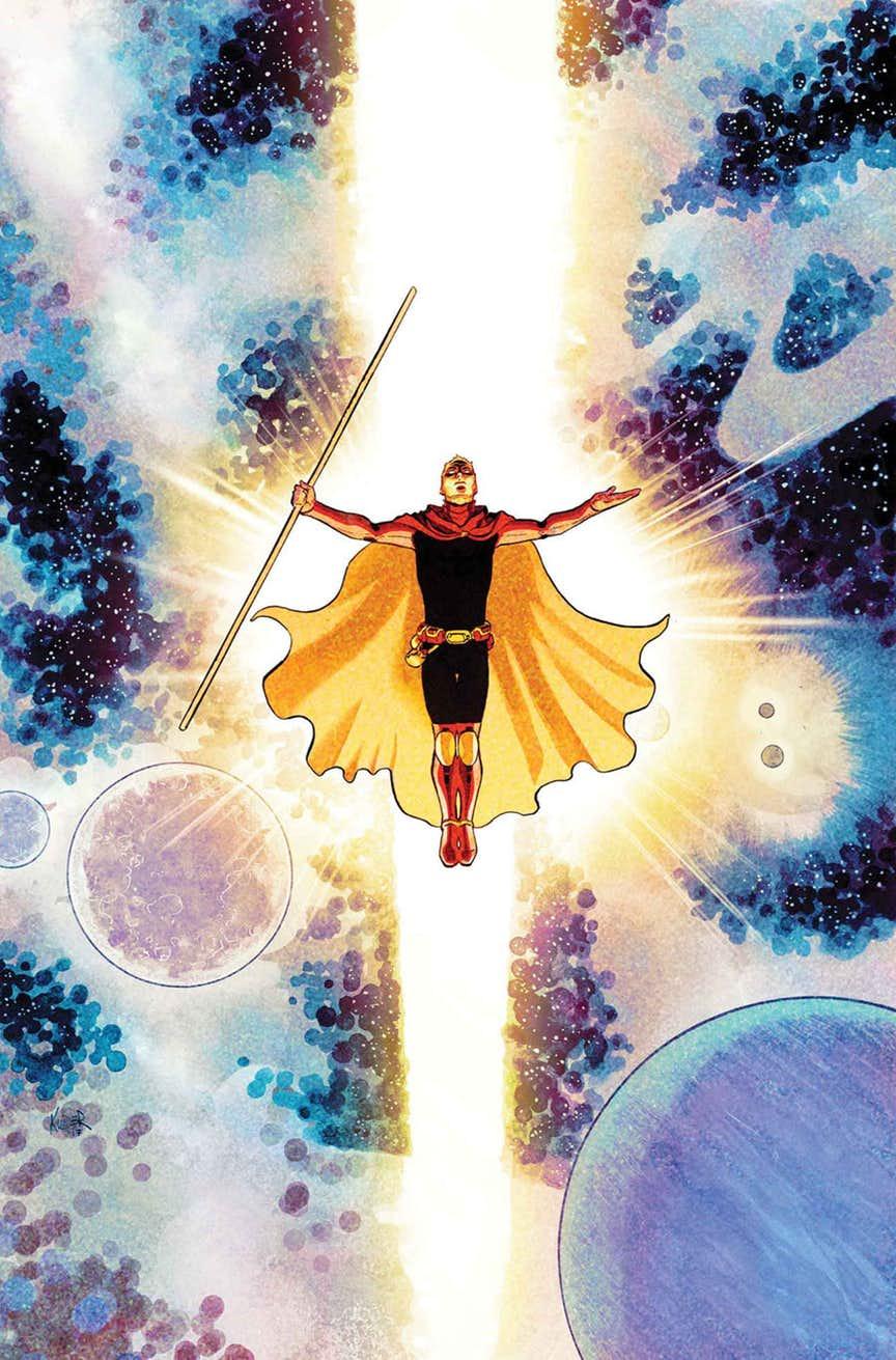 Infinity Countdown: Adam Warlock #1, copertina di Aaron Kuder