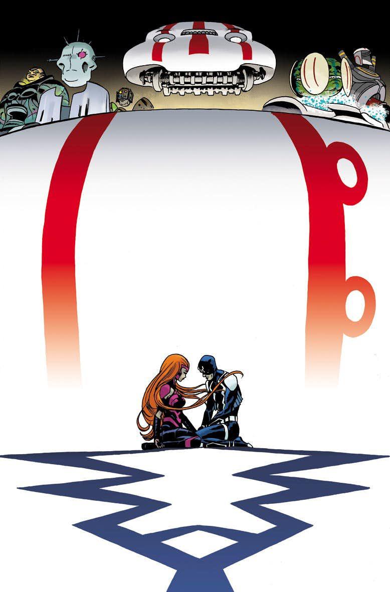 Inhumans: Judgment Day, copertina di Marcos Martin