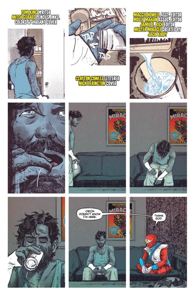 Mister Miracle #3, anteprima 02