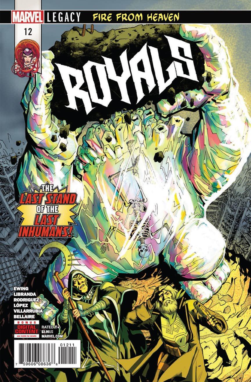 Royals #12, copertina di Javier Rodriguez
