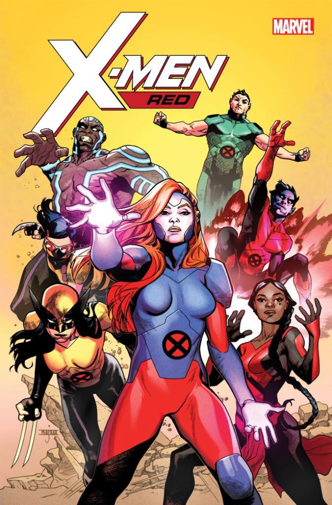 X-Men: Red, illustrazione di Mahmud Asrar