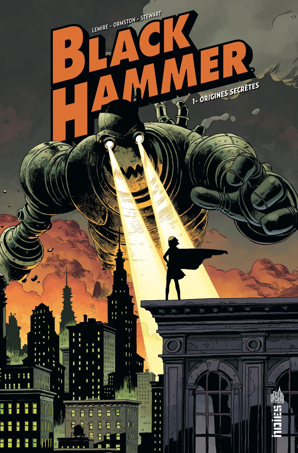 Black Hammer di Dean Ormston e Jeff Lemire (Urban Comics)
