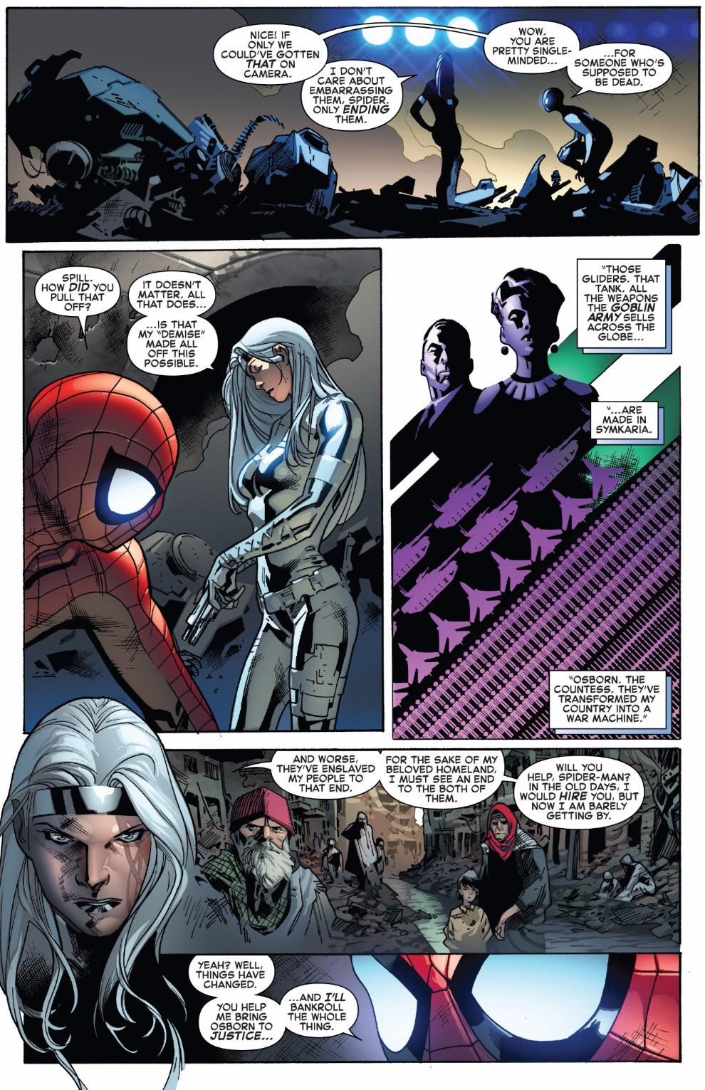 Spiderman Black Cat Fanfiction