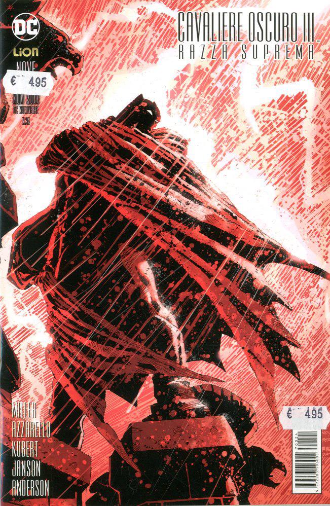 Cavaliere Oscuri III - Razza Suprema 9, copertina di Andy Kubert