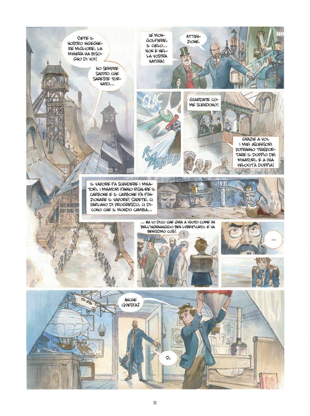 Il Castello delle Stelle - 1869: La Conquista dello Spazio, anteprima 01Il Castello delle Stelle - 1869: La Conquista dello Spazio, anteprima 03