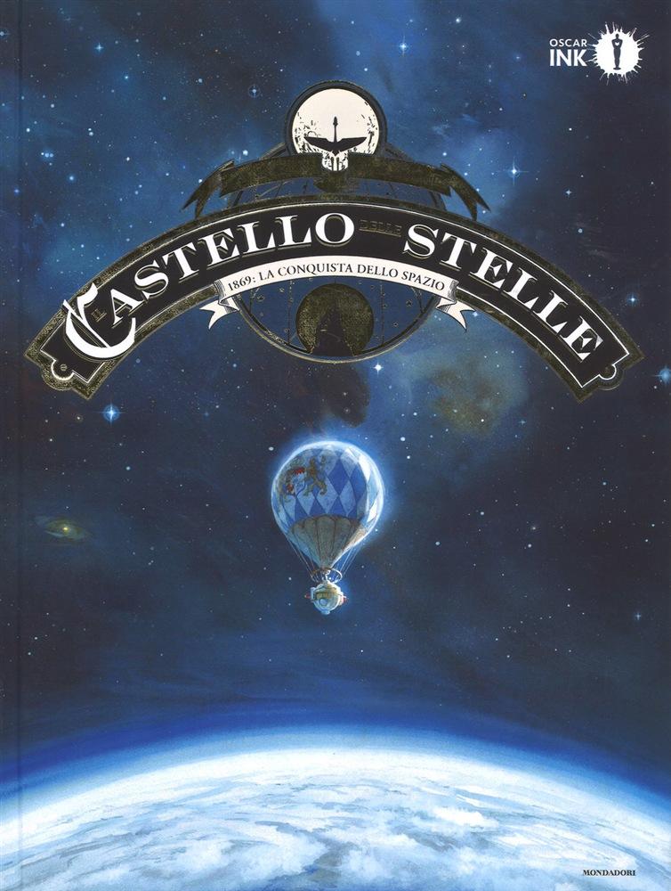 Il Castello delle Stelle - 1869: La Conquista dello Spazio, copertina di Alex Alice