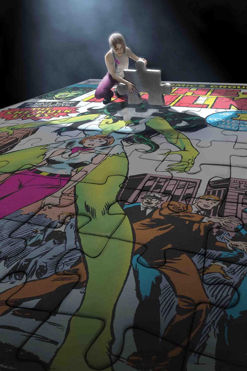 She-Hulk #163, copertina di Rahzzah