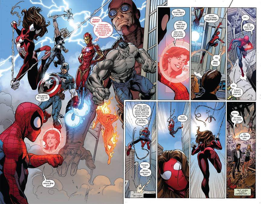 Spider-Men II #5, anteprima 03