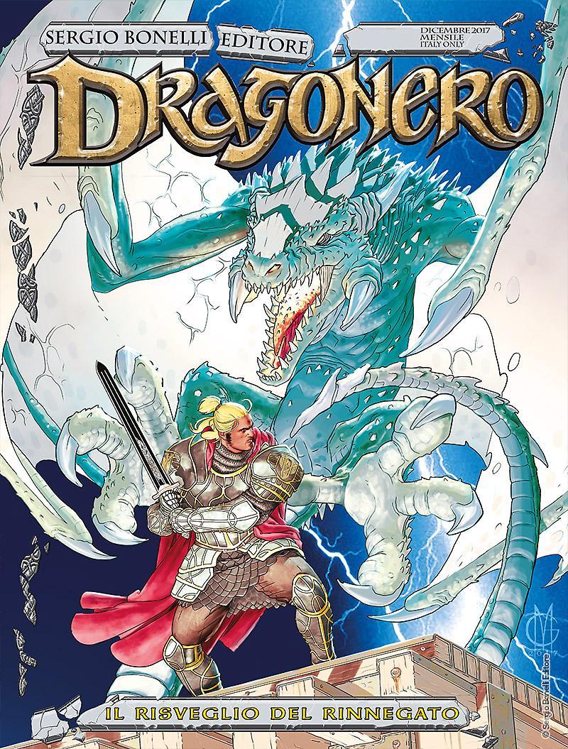 Dragonero 55, copertina di Giuseppe Matteoni