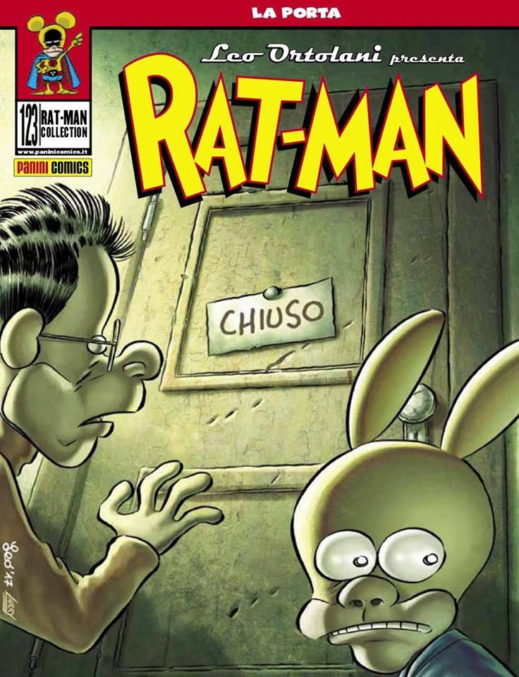 Rat-Man 123, copertina di Leo Ortolani