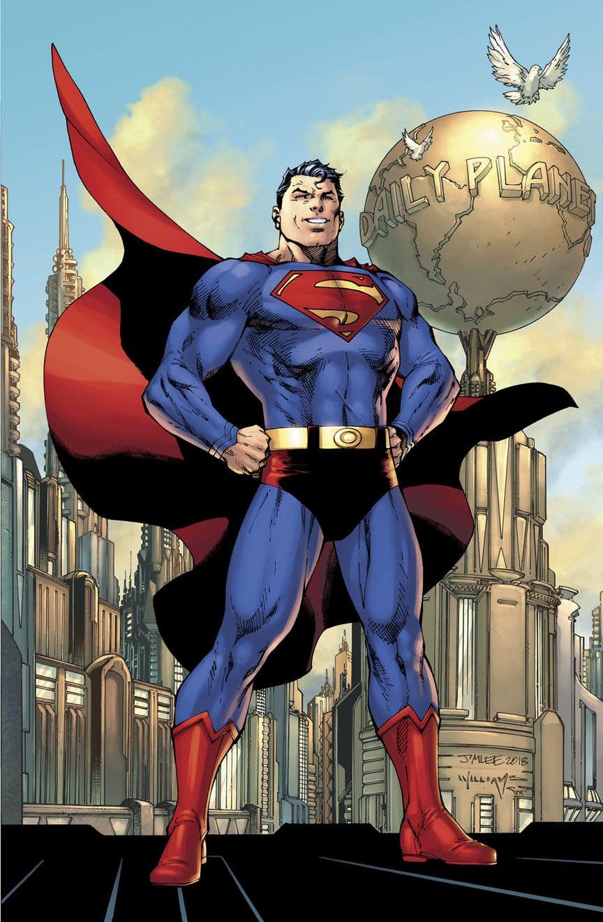 Action Comics #1000, copertina di Jim Lee