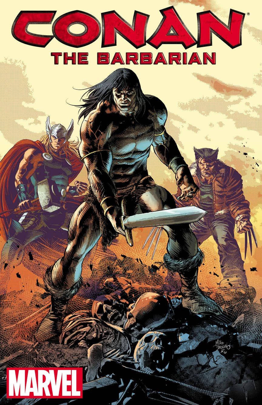 Conan the Barbarian, illustrazione di Mike Deodato Jr.